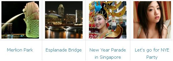 Singapore NYE destinations